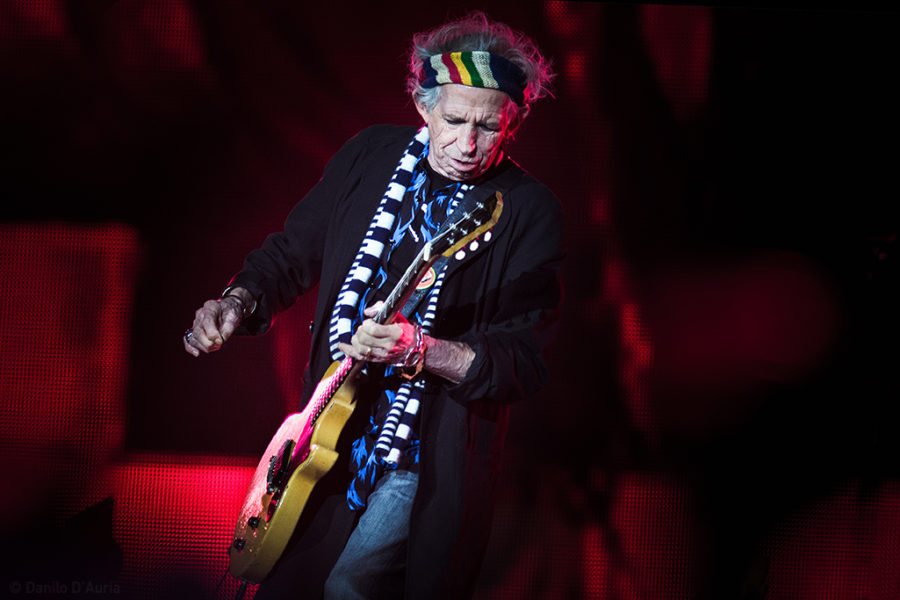Keith Richards - The Rolling Stones © Danilo D'Auria