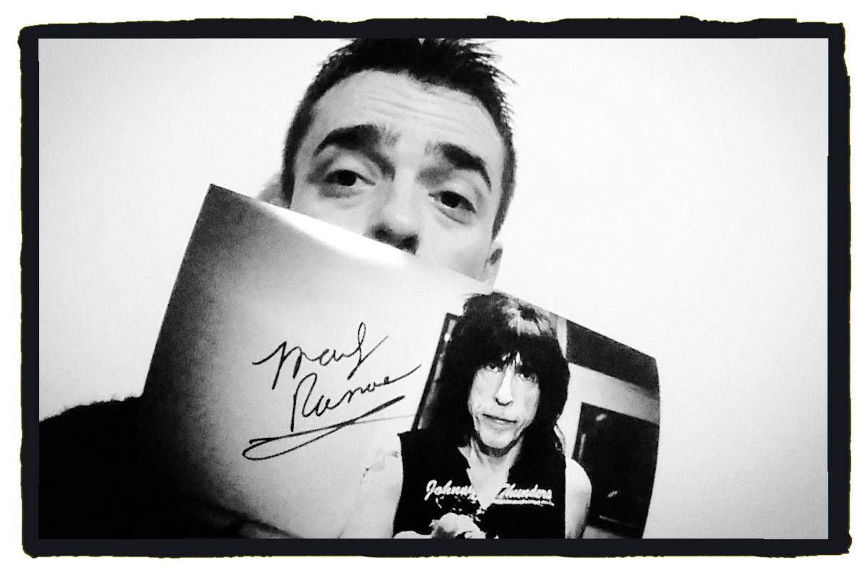 Marky Ramone autografo
