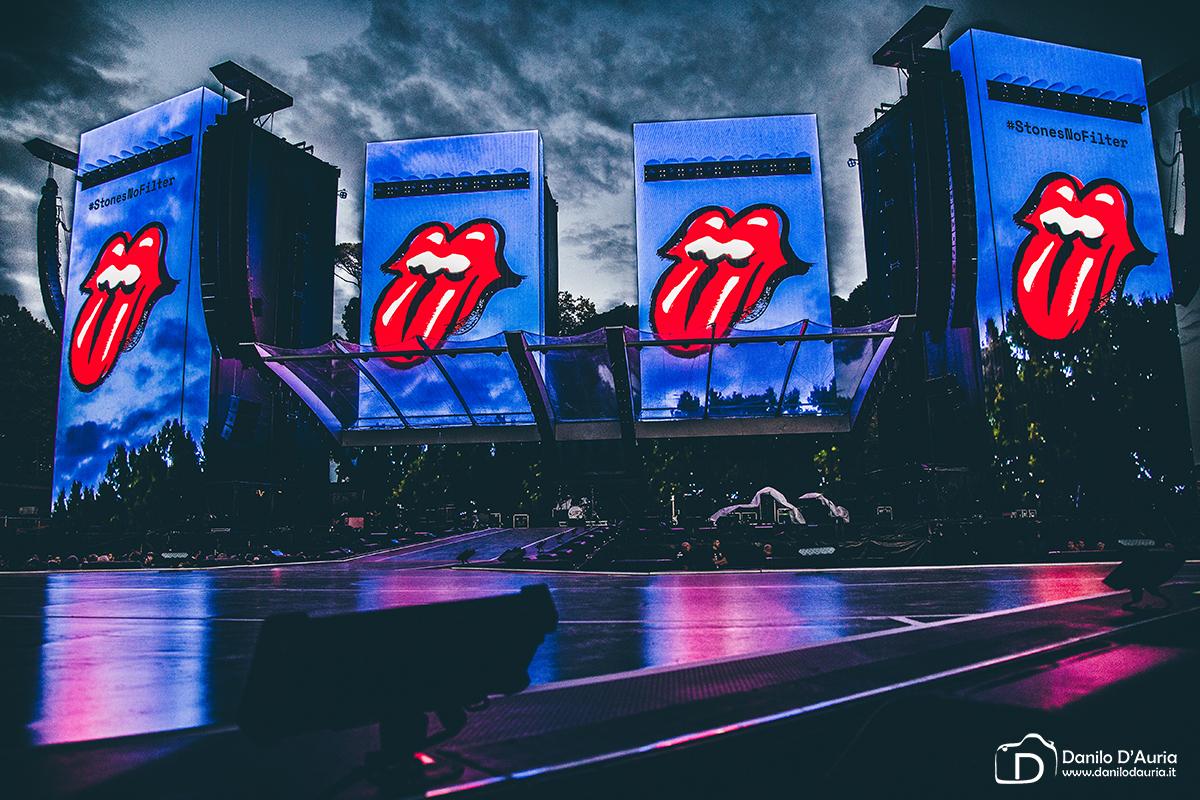 Palco dei Rolling Stones Lucca by Danilo D'Auria